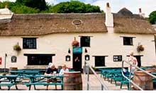 Pandora Inn, Falmouth, Cornwall