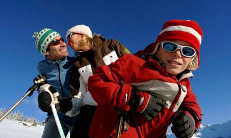 The Alps are the classic family ski destination.