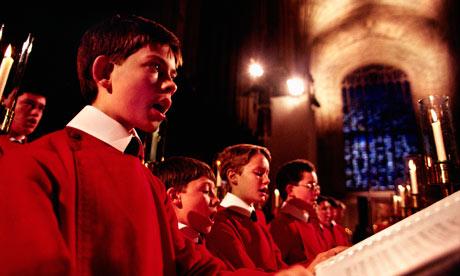 King's College Christmas choir, Cambridge
