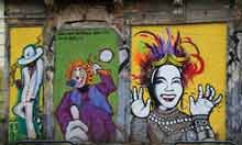 Street art in Rio, Brazil