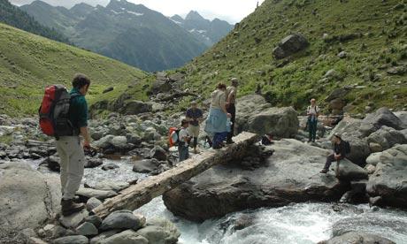 Trekking in Kashmir with Wild Frontiers.