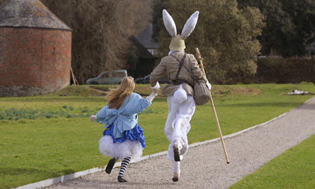 Alice in Wonderland at Antony House, Cornwall
