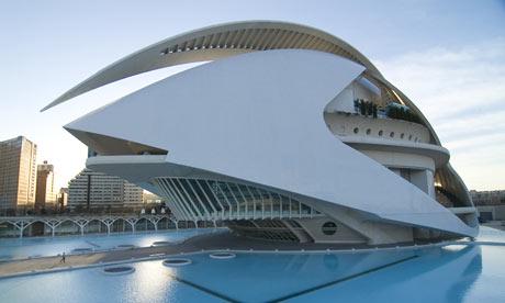 El Palau de les Arts, Valencia.  El Palau de les Arts, Valencia.