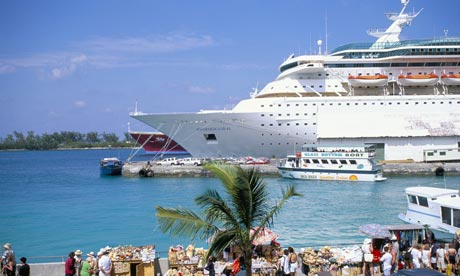 Cruise Ship in Nassau, Bahamas