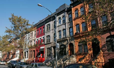 Classic Harlem style Brownstones (Taken from Guadrian.co.uk)
