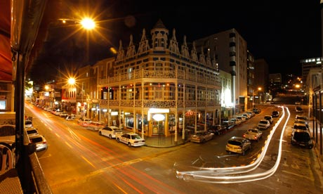 Cape Town's trendy Long Street