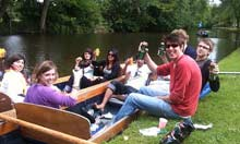Oxford TwiTrip: Punting