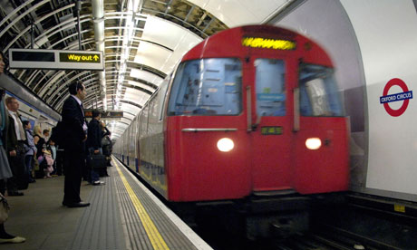 A London Undergroud Tube train