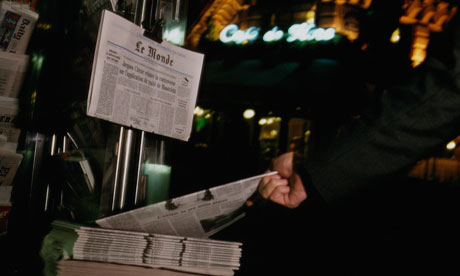 VAT is charged on newspapers in France