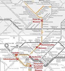 M1 Tram trip, Berlin