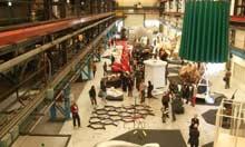 Beeld Hal Werk temporary art exhibition, Amsterdam