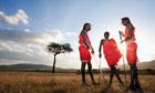 Masai tribesmen Kenya