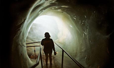 Eisriesenwelt ice cave, Austria