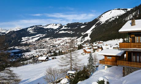 Châtel in France is linked to the vast Port du Soleil ski area