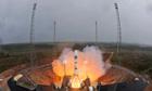 Soyuz VS01 lifts off with Galileo satelites