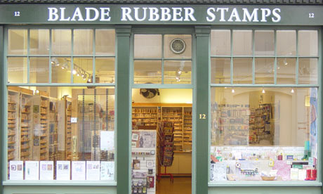 Blade Rubber Stamps, London