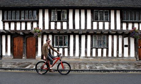 Cyclist Warwickshire