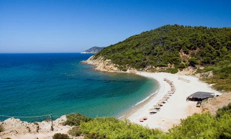 Agistros beach, Skiathos