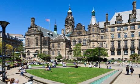 Cities - Sheffield Peace Gardens