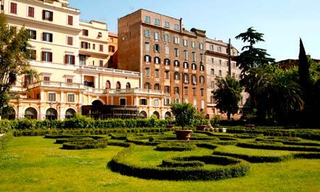 Gardens of Palazzo Barberini