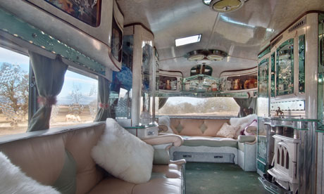 Modern Gypsy Caravans http://www.guardian.co.uk/travel/2011/aug/12/unusual-eccentric-places-stay-britain
