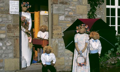 Wedding scarecrows, Scarecrow Festival, Kettlewell