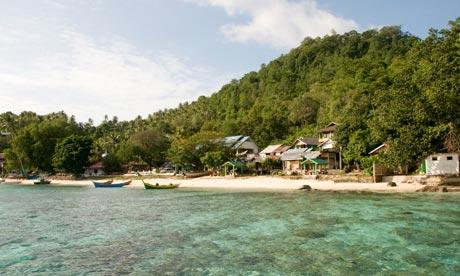 Iboih Beach, Pulau Weh, Sumatra