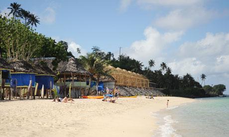 Taufua Beach Fales, Lalomanu, Western Samoa