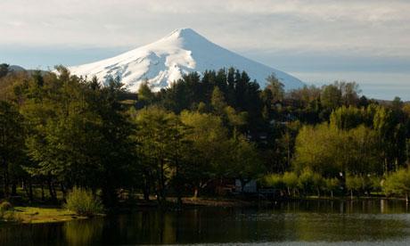 Volcano Villaricca, Chile
