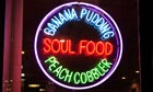 Neon sign for Soul Food, H