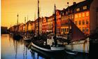 Golden moments … Nyhavn, in the centre of Copenhagen