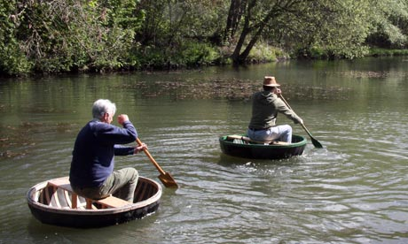 a coracle