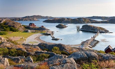 Take a swim off the Swedish island of Tjorn