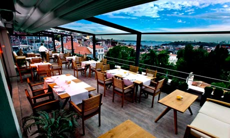 10 of the best high end restaurants in istanbul travel for Top of the terrace restaurant
