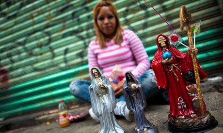Figurines of Santa Muerte