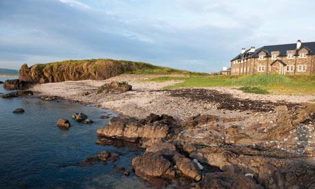 Ugadale golf cottages, Scotland