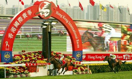 Hong Kong, Sha Tin racecourse
