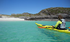 Sea kayak to remote beaches from Lochalsh