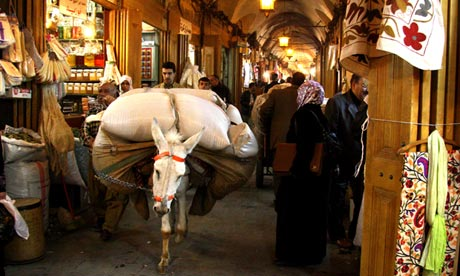 Aleppo souk, Syria