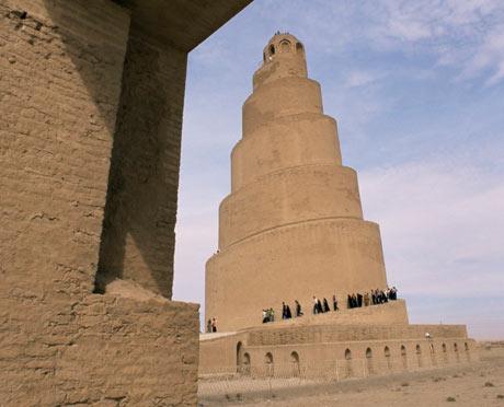 The minaret of Malwiya, Samarra, Iraq