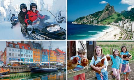 Readers' travel writing competition prizes