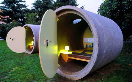 Quirky accommodation ideas