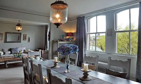 The dining area of the Rajasthan apartment in the Royal Parade Apartments