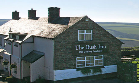 The Bush Inn, Morwenstow, Cornwall