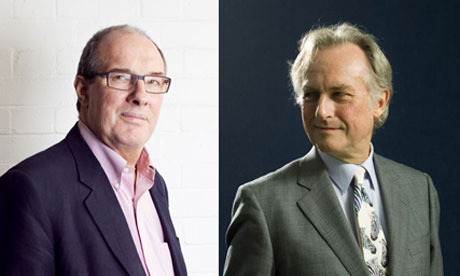 Will Hutton and Richard Dawkins together