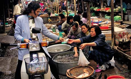 Hanoi's fish market