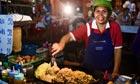 Street food stall in Bangkok, Thailand