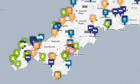 Interactive Cornwall guide