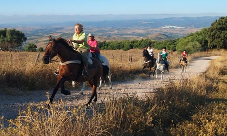 Gourmet riding Andalucia