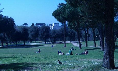 Take a breather in Rome's Villa Pamphili park